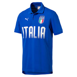 FIGC Men's Italia Fanwear Polo