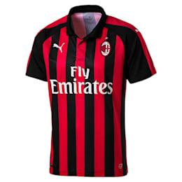 Réplica de camiseta de local deAC Milan para hombre