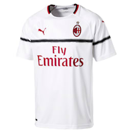 Réplica de camiseta de visitante deAC Milan para hombre