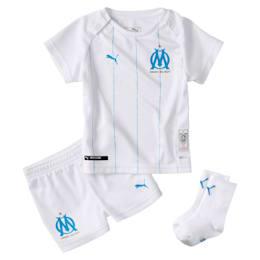 Minikit de la primera equipación de bebé Olympique de Marseille