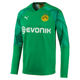 BVB Replica Long Sleeve Men's Goalkeeper Jersey