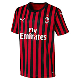 Camiseta de la primera equipación de réplica de niños AC Milan
