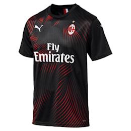 Réplica de camiseta alternativa del AC Milan para hombre