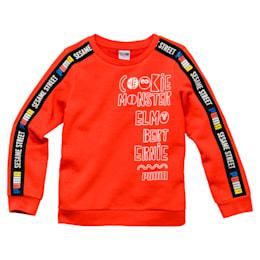 Camiseta de niño con cuello redondo deBarrio Sésamo®