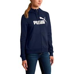 Women's Essential Fleece Hooded Jacket