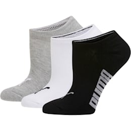 Women's Invisible No Show Socks (3 Pack)