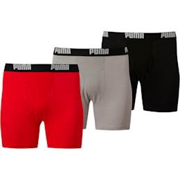 Boxers de algodón para hombre [paquete de 3]