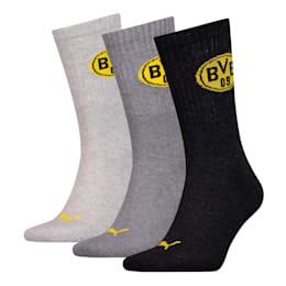 PUMA x BVB Sport Socks 3 Pack