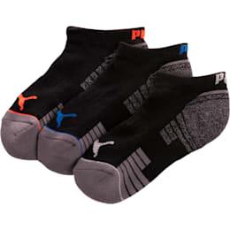 Calcetines cortos 1/2 de toalla para niños [paquete de 3]