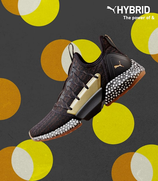 PUMA Hybrid Technology | The Power of &. Combining NRGY and