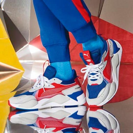 PUMA x TRANSFORMERS | Optimus Prime, Bumblebee RS X Shoes